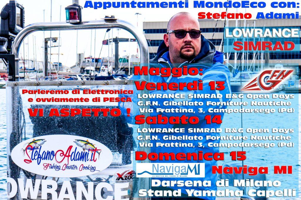Appuntamenti con Stefano Adami e MondoEco live maggio 2016