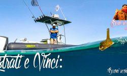 Registrati e vinci con Charter pesca Genova e Stefano Adami