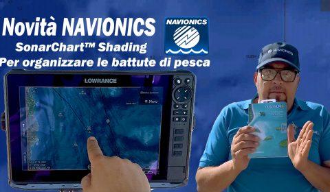 Presentazione Nuova Navionics Platinum plus Sonar Chart Shading