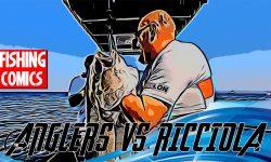 Fishing Comics: Angler Vs Ricciola - Una Ricciola a fumetti, un nuovo modo di fare video di pesca