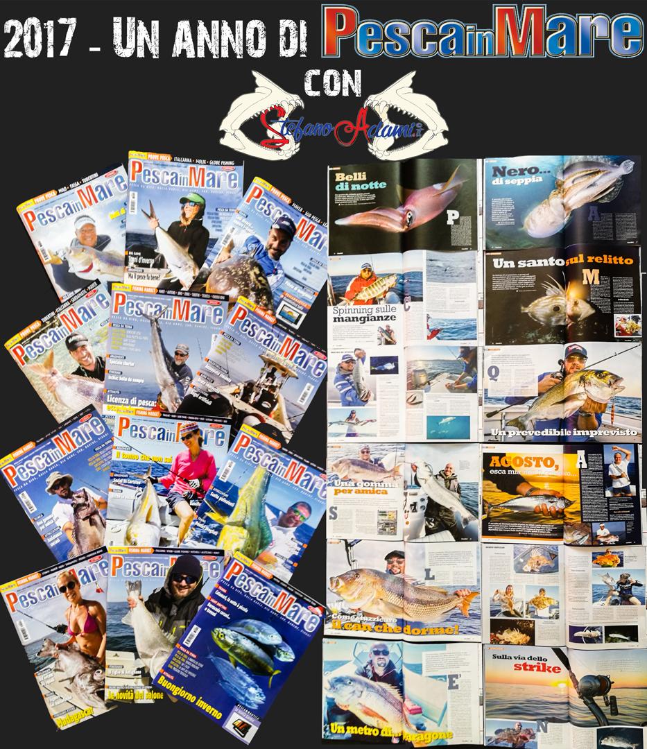 Un anno di Stefano Adami su pesca in mare