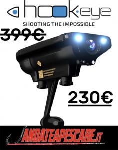 Super offerta Hook eye camera andateapescare.it