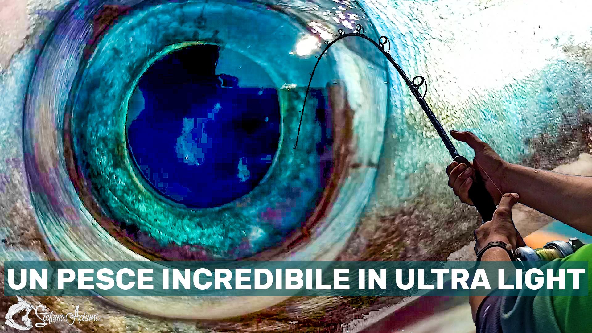 Un pesce spada con attrezzatura ultra light per Stefano Adami