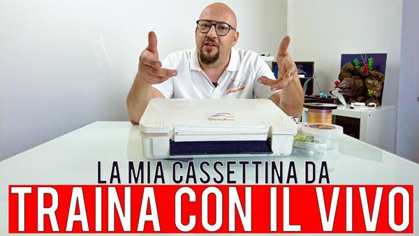 Cosa c'è nella cassetta da traina col vivo di Stefano Adami ?