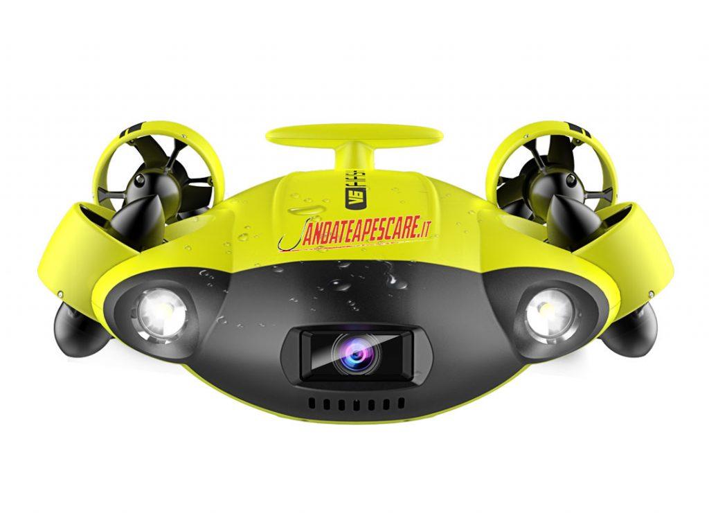 ROV subacqueo FiFish v6 il drone per esplorare il fondo del mare